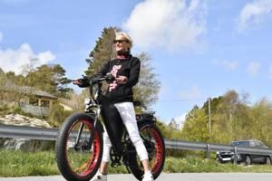 Bilde av Fat Bike el sykkel 1500w 48v